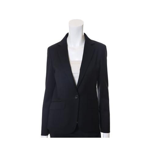 (イネド)INED ウールスーツジャケット ブラック 11