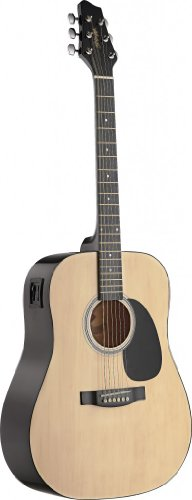 Stagg Sw201N-Vt Electro-Acoustic Dreadnought Guitar With 2-Band Eq