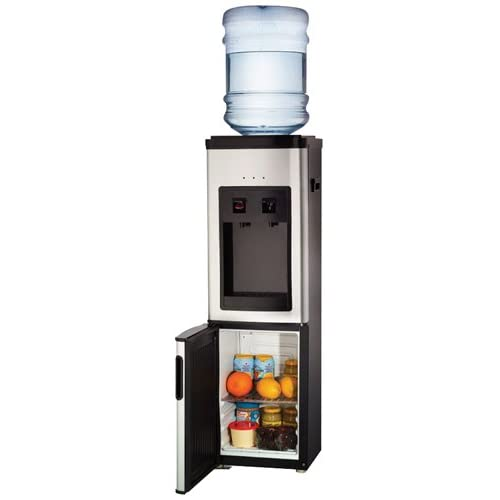 Haier wdns401vs stainless steel tabletop hot cold water dispenser with