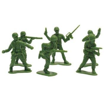 Plastic Army Men 18 Per Pack - 1