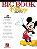 Hal Leonard The Big Book Of Disney Songs Violin