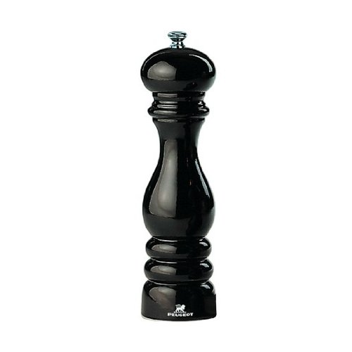 Peugeot PM04255 Paris Classic 9 Inch Pepper Mill, Black Lacquer