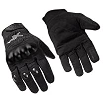 WILEY-X Durtac All-Purpose Gloves, Black, XL Size (G400XL)