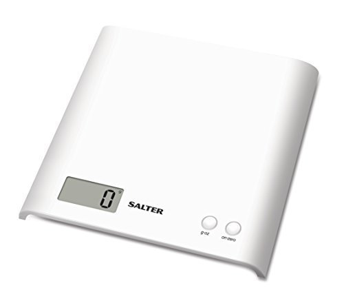 Salter Electronic Kitchen Platform Scale White by Salter