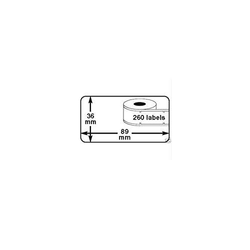 HD-LINE Lot 30 rouleaux etiquette seiko DYMO 99012 compatibles BLANC labels writer rolls