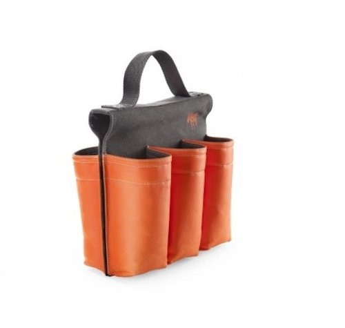 Six-slot Saddlebag Style Bike Bag, 6 Bottle Carrier with Handle