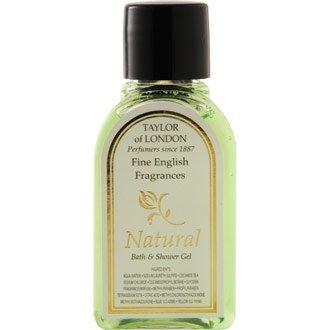 Natural Bath & Shower Gel - 30ml (Pack 250) - Hotel Room Toiletries