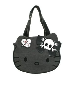 Angry Kitty Face Hello Kitty Bag