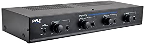 Pyle Home PSPVC4 4-Channel High Power Stereo Speaker Selector with volume Control