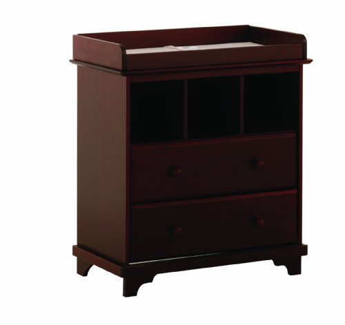 Nursery Changing Table Stork Craft Lily 2 Drawer Changer: nursery chest of drawers with changer