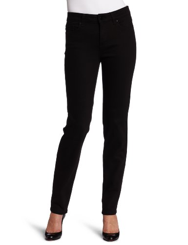 Not Your Daughter's Jeans Women's Petite Alisha Fitted Ankle Pant, Black, 4P