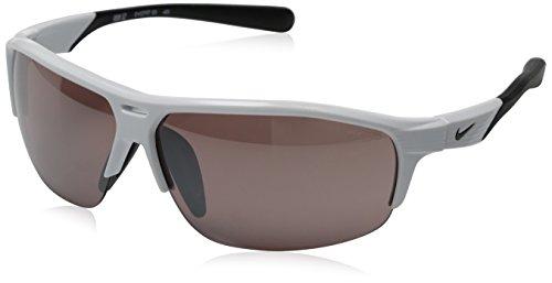 Nike Max Speed Tint Lens Run X2 E Sunglasses, White/Black