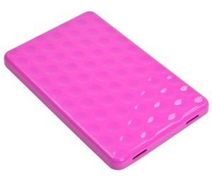 Case Star TPU soft gel bubble style case/cover for Amazon Kindle Fire and Case Star cellphone bag-Hot Pink