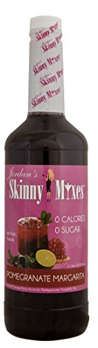 Pomegranate Margarita- Jordan's Skinny Mixes, 1 Liter( 33.8 fl oz) (Jordans Skinny Margarita Mix compare prices)