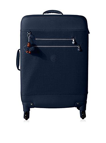 Kipling Monti M Wheeled Suitcase, True Blue
