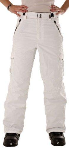 LIGHT Damen Snowboardhose Prime, white, S