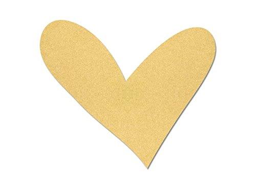 Wide Funky Heart Plaque