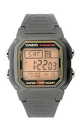 Casio Unisex Casual Classic watch #W-800HG-9AV