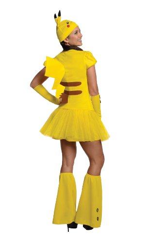 Disfraz-de-Pikachu-Pokemon-para-mujer-M