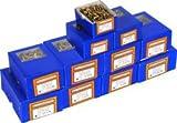 PKE Pro.Spec Single Thread Screw Trade Pack 1800 Pc [Pack of 1] [+F6]
