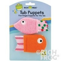 Rich Frog Friendly Fish Tub Puppets