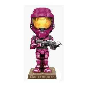 Picture of Funko HALO 3: Crimson Spartan Previews Exclusive Bobble Head Figure (B001VE88EE) (Halo Action Figures)
