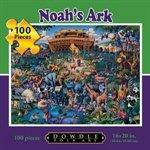 Dowdle Folk Art Noah's Ark 100pc 16x20 Puzzles
