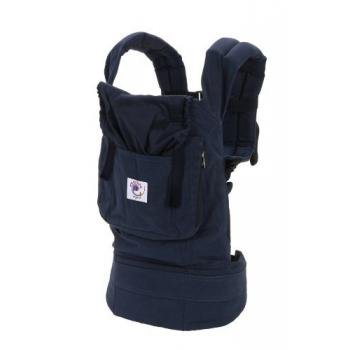ERGObaby Organic Baby Carrier, Navy/Midnight