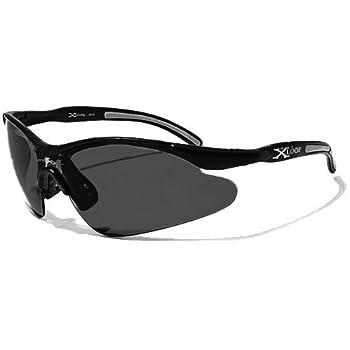 X-Loop Lunettes de Soleil - Sport - Cyclisme - Ski - Conduite - Motard / Mod. 3529 Noir / Taille Unique Adulte / Protection 100% UV400