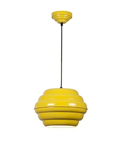 Homemania Lampada A Sospensione Pendant Giallo