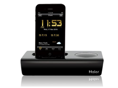 """Haier """"The Rise"""" Docking Station For Ipod/Iphone front-575497"""
