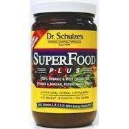 (1) Dr. Schulze's Superfood Plus! 14oz Jar Whole Food Mineral Nutritional Supplement Meal Replacement POWDER(1) Dr. Schulze's Superfood Plus! 14oz Jar Whole Food Mineral Nutritional Supplement Meal Replacement POWDER