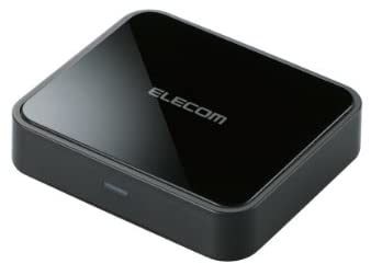 ELECOM NFCペアリング機能搭載Bluetooth オーディオレシーバー BOX 高音質コーデックAAC/aptX対応 光デジタル出力搭載 LBT-AVWAR700
