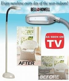 Bell howell floor lamp bell and howell sunlight floor lamp mozeypictures Choice Image