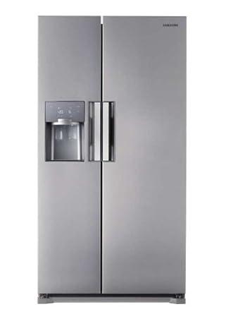 Samsung RS7778FHCSP/EF Side by Side / A++ / 353 kWh/Jahr /  359 L Kühlteil /  184 L Gefrierteil / Edelstahl Look / Hausbar, Wasser/Eis, Indoor I/M, Built-in Easy handle, Silber Dekor