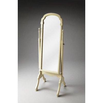 Antique White Vanity Table front-954941