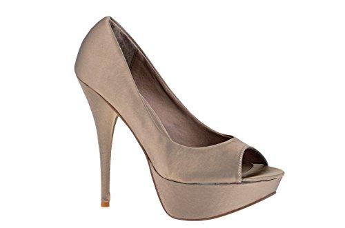 Nina Morena - Décolleté beige nina morena, calzatura donna, taglia: 37, colore: beige
