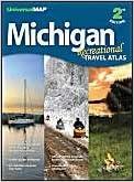Michigan Recreational Road Atlas (Michigan Recreational Travel Atlas)