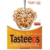 Ralston Foods Honey And Nut Tasteeos Cereal, 28 Ounce -- 4 Per Case.