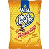 Wise Honey BBQ Puffed Cheez Doodles, .75-Oz Bags (Pack of 72)