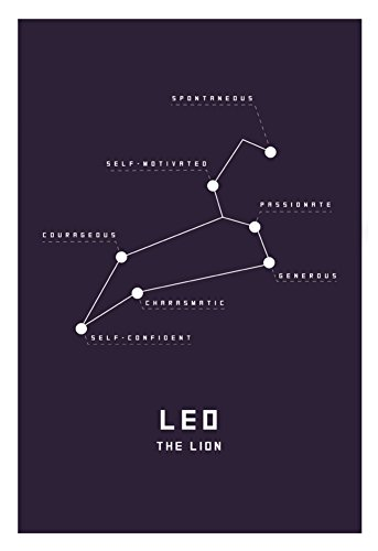 Astrology-Chart-Leo-Poster-13-x-19in
