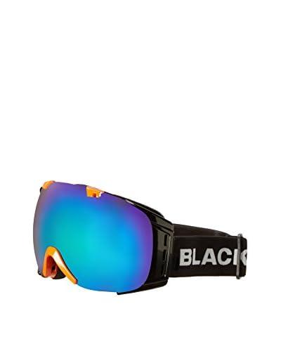 Black Crevice Máscara de Esquí Negro / Naranja