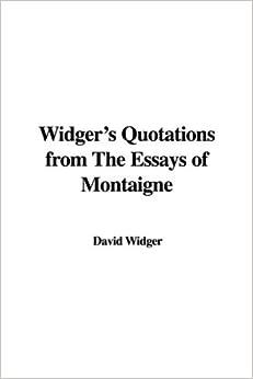 essays montaigne quotes