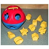 Toy / Game Fantastic TUPPERWARE Shape Super O Ball Toy - Classic Rattle, Shape-sorter And Counting Toy!
