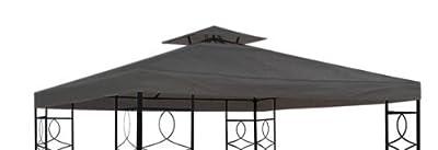 Pavillon Ersatzdach mit PVC Beschichtung (wasserdicht) - 3x3 Meter - 270 gr/m² Polyester von Spetebo auf Gartenmöbel von Du und Dein Garten
