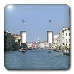 Vacation Spots - Venezia Italy - Light Switch Covers - double toggle switch
