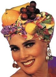 Latin Lady Fruit Hat Headpiece