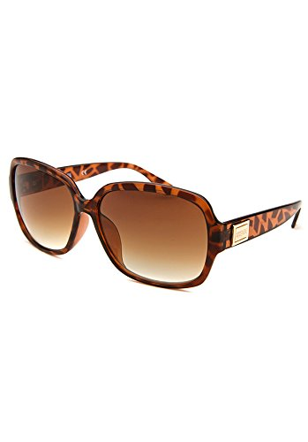 Tortoise Oversized Sunglasses by Kenneth Cole
