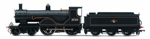 Hornby R3107 BR T9 30313 Lined Late Crest 00 Gauge Steam Locomotive