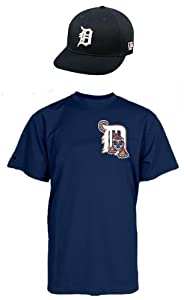 DETROIT TIGERS ADULT MLB Cap & Jersey (Official Major League Baseball Replica Hat... by Authentic Sports Shop